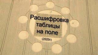Рисунки на полях - РАСШИФРОВКА \ТАБЛИЦЫ НА ПОЛЕ\