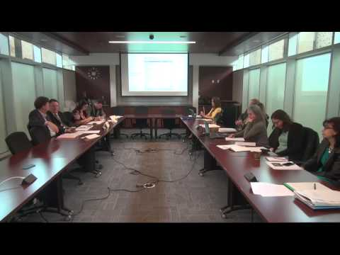 Governance Sub-Committee for April 28, 2014 [Live at 9:30am]