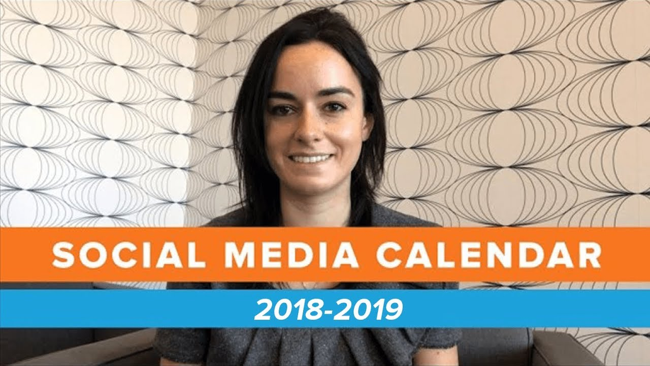 The Ultimate Social Media Holiday Calendar For 2018 Youtube