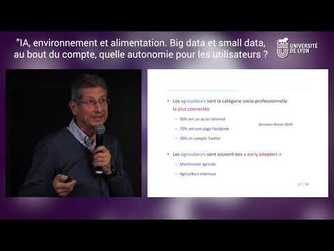 IA, environnement et alimentation. Big Data et Small Data, quelle autonomie pour les utilisateurs ?