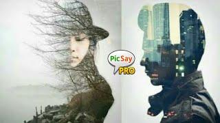 Cara Edit Foto Double Expouse | Picsay Pro