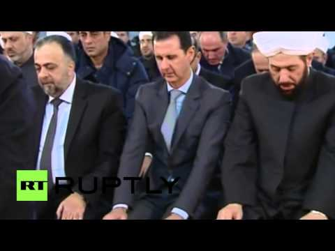 Syria: Assad attends Mawlid prayers in Damascus amidst ongoing conflict