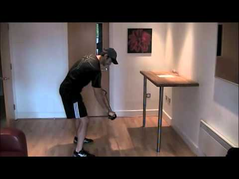 Golf Fitness Exercise To Increase Separation: Single Arm Row With Twist