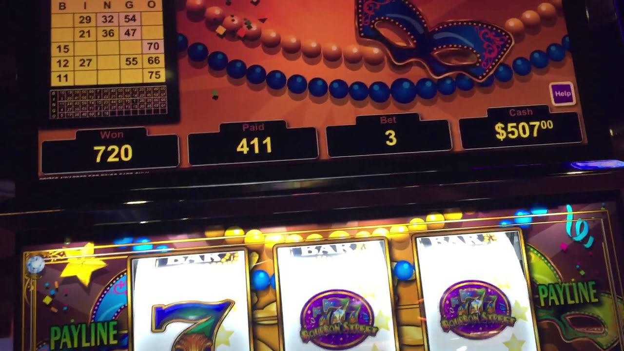 Bourbon Street 5 Dollar Slot Machine