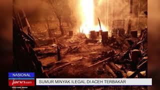 10 Orang Tewas Terpanggang akibat Kebakaran Sumur Minyak Ilegal di Aceh - JPNN.COM