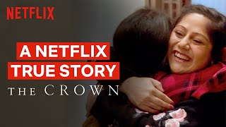 SURPRISE TRIP: The Crown Reunites Sisters Living 8000 Miles Apart | Netflix