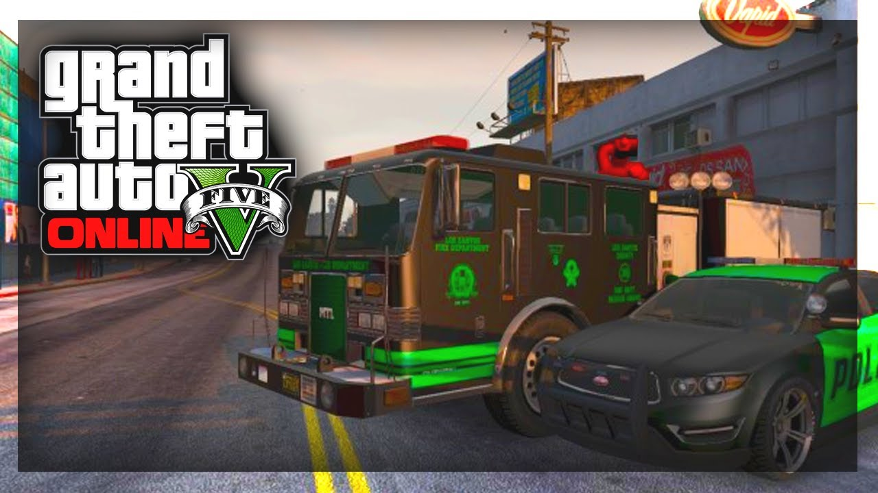 How To Customize Police Cars In Gta  Single Player