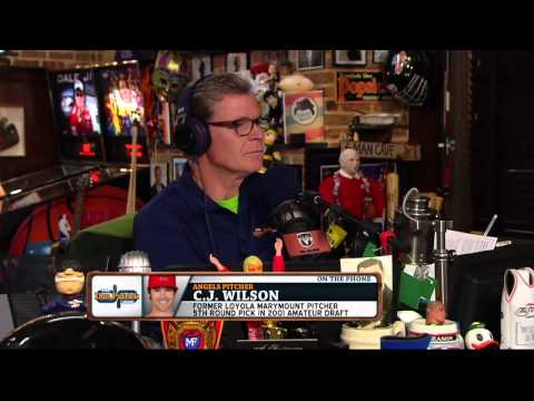 C.J. Wilson on The Dan Patrick  Full  61515