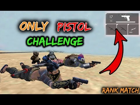 Only Pistol Challenge in Rank With Bhopali - Garena Free Fire - Desi Gamers