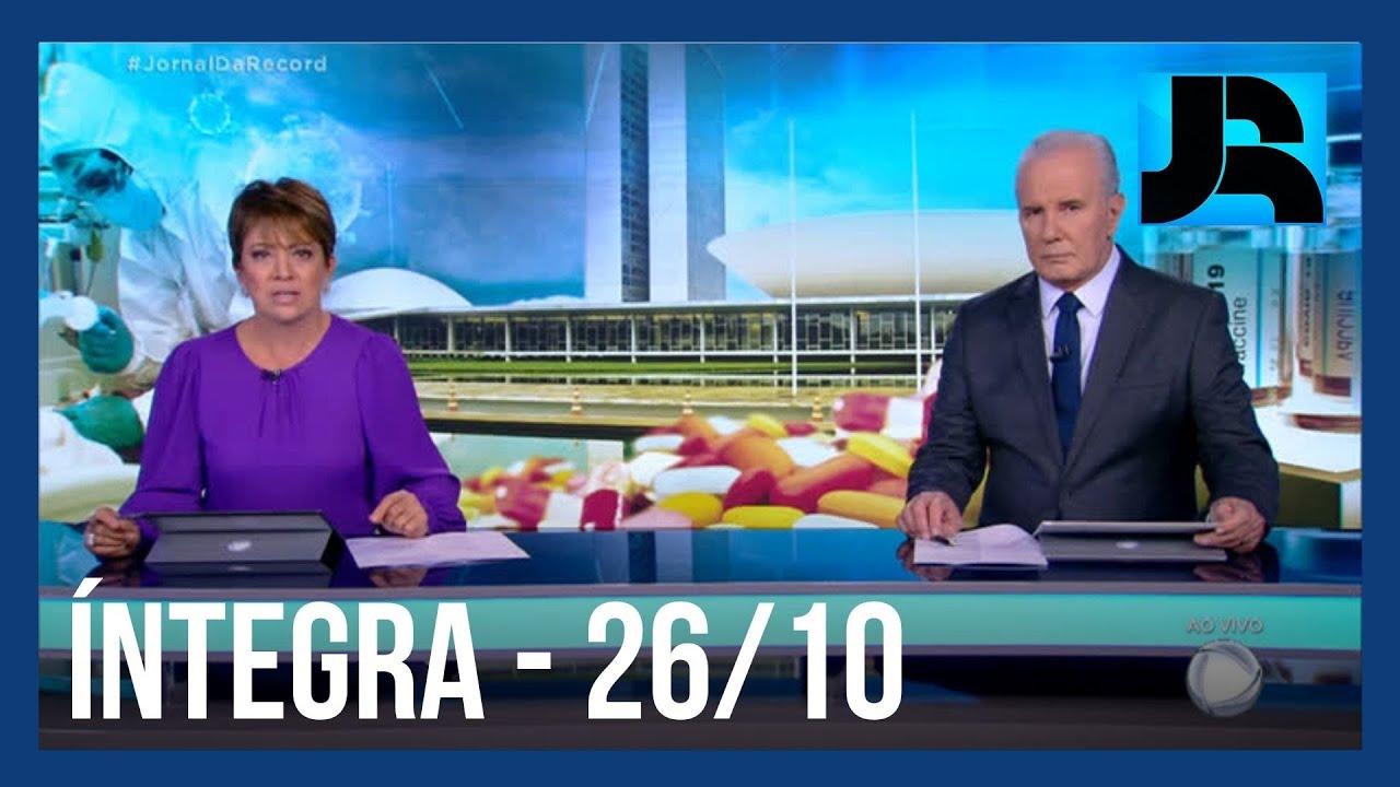 Download Assista à íntegra do Jornal da Record   26/10/2021