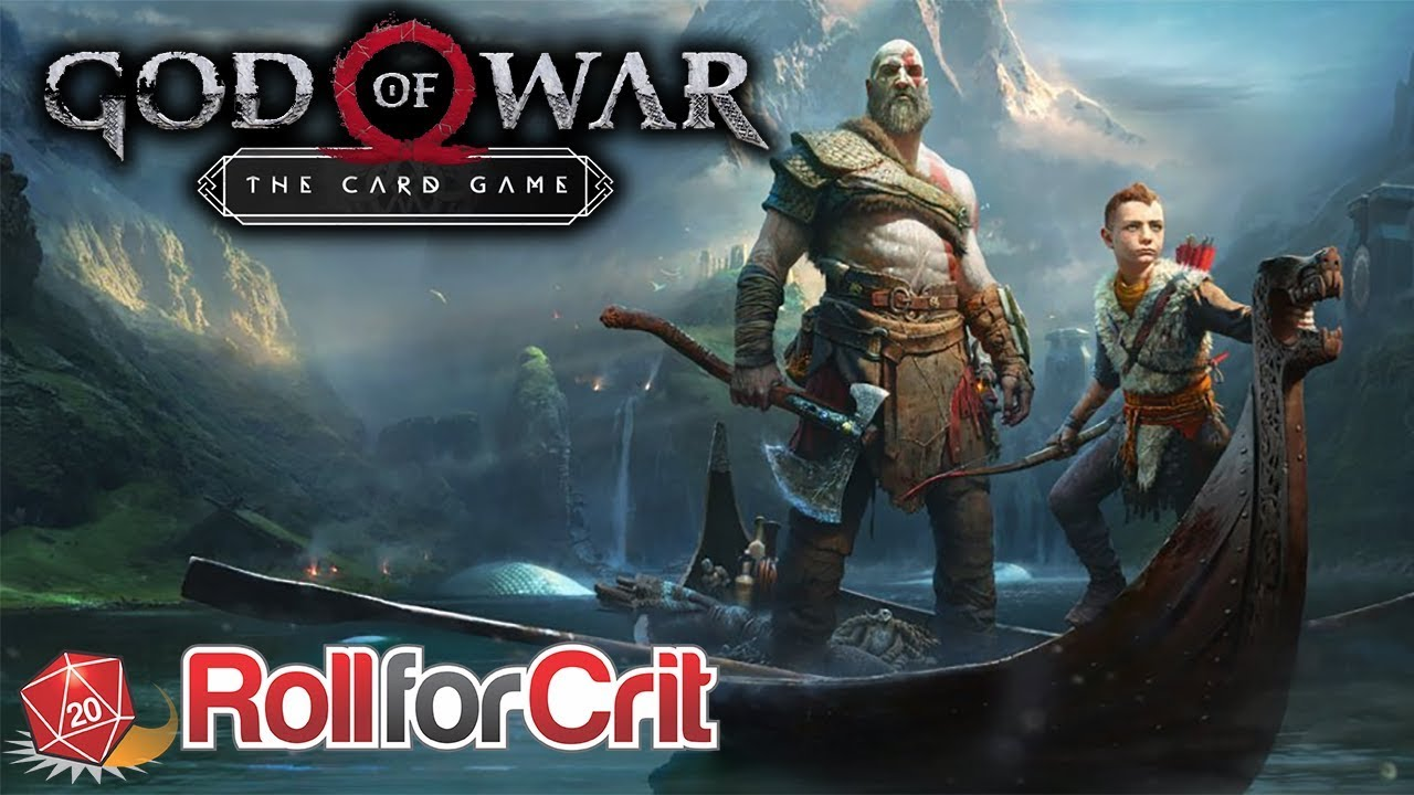 God of War: The Card Game Announced by CMON