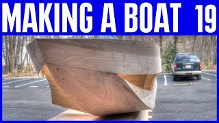 How to Build a Wooden Boat 19 - Big News Updates & Meetup News