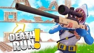 DEATH RUN *Custom Fortnite Game mode* w/ Little Kelly | Sharky Fortnite