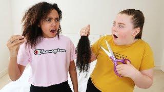 ISLA CUT MY HAIR OFF!!