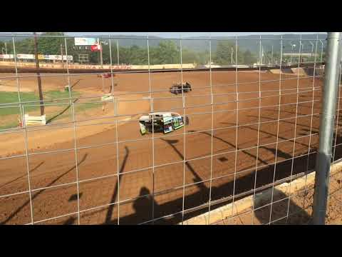 Mid Atlantic Modified Series heats and warms up at Path Valley Speedway Park 7/27/19