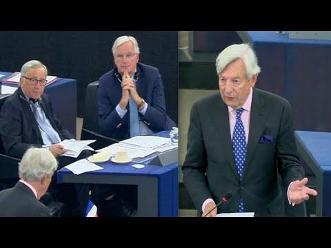 BREXIT: United Kingdom MUST leave on 31 October, EU's Barnier needs hurry up call - UK MEP Van Orden