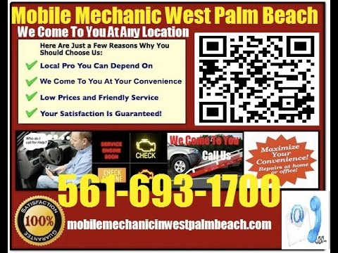 Mobile Mechanic Boynton beach FL 561-693-1700 Auto Car Repair Service