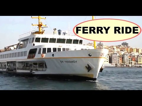 Bosphorus Ferry Ride - Watch the Istanbul City using Bosphorus Ferry Ride