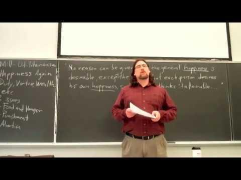 PPT     John Stuart Mill  Utilitarianism PowerPoint presentation   free to  download   id      c  ZDc Z