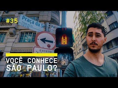 CHEGUEI EM SÃO PAULO (PRAÇA DA SÉ E CENTRO HISTÓRICO) - VLOG 35