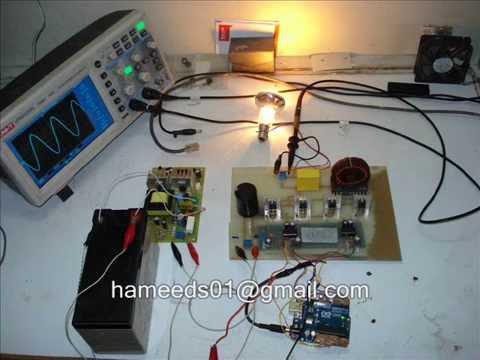 Pure Sine Wave Inverter using Arduino UNO