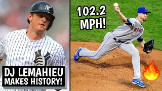 DJ LeMahieu Makes MLB HISTORY! Jacob deGrom Throws 102.2 MPH Pitch, Playoffs Update (MLB Recap)