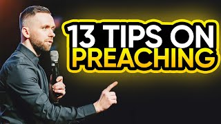 13 Tips To M๐re Effective Preaching!