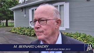M. Bernard Landry sur les élections 2015