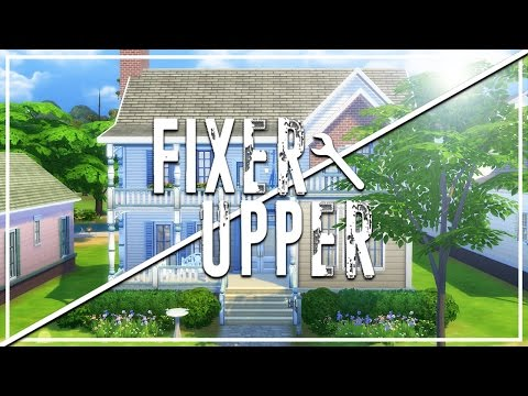 THE PANCAKES' HOUSE // The Sims 4: Fixer Upper - Home Renovation