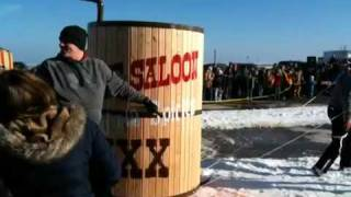 Dixie Saloon Wins Mackinaw City Outhouse Race