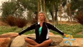 Cover images Gentle Yoga Basics DVD with Jade Butler and Sherry Zak Morris