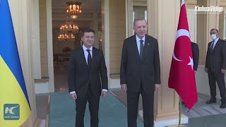 Turkey, Ukraine vow to boost cooperation