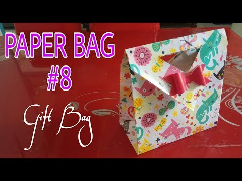PAPER BAG 8, Gift Bag & origami version