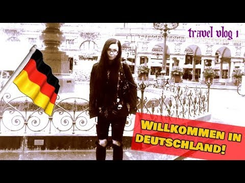 WILLKOMMEN IN DEUTSCHLAND! - Getting to Germany || Travel Vlog 1 - ReeRee Phillips