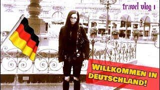 WILLKOMMEN IN DEUTSCHLAND! - Getting to Germany || Travel Vlog 1 - ReeRee Phillips
