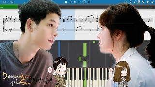 Yoon Mi Rae - Always  (Descendants Of The Sun) EASY Piano Tutorial + Sheet Music By Suraj Khanna