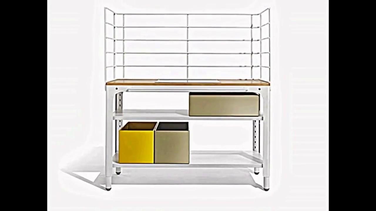 Kleine Küche -- modulares Konzept spart Platz - YouTube