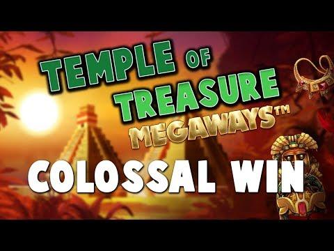 TEMPLE OF TREASURE MEGAWAYS (BLUEPRINT GAMING) ONLINE SLOT