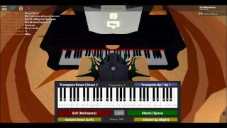 Roblox Piano! Guess These 2 Songs :3