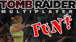 Tomb Raider 2013 Multiplayer Fun! XBOX 360