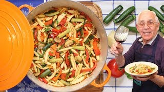 Today i would like to share with you my pasta primavera recipe.written recipe: http://orsararecipes.net/pasta-primavera-recipe-2~merch~my t-shirts: https://t...