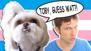 MY DOG IS TRANS(-species) [Toby & Gryphon]