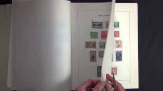 New Zealand 1857-1986 All Different Used Stamp Collection