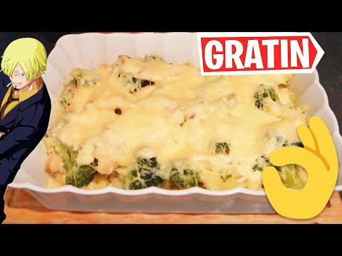 gratin-de-poisson-sauce-béchamel-(les-recettes-de-sanji-#10)