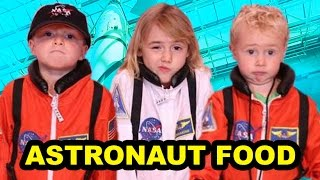 Trying Astronaut Food