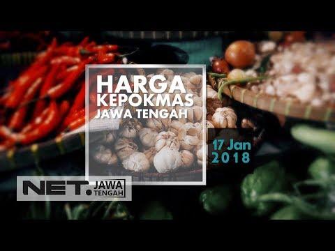 HARGA KEBUTUHAN POKOK MASYARAKAT JAWA TENGAH - NET JATENG