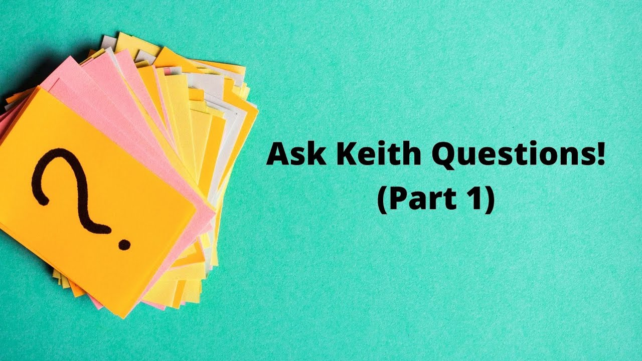"""""""Ask Keith Questions""""   All Saints' Episcopal Church   Meetings"""