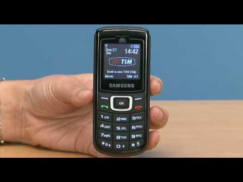 Carregador solar é o destaque do celular E1107, da Samsung