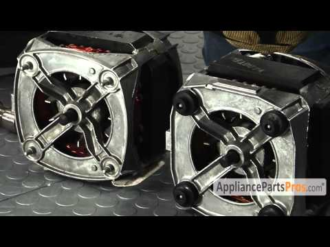 Washer Drive Motor (part #WP661600) - How To Replace