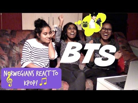 Norwegians React to KPOP! #7 // BTS *LIVE EDITION*